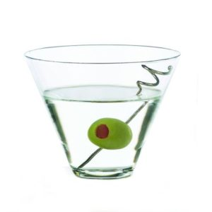 Stemless 13.5 oz Martini Glass w
