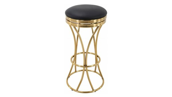 Brage Backless Round Seat Bar Stools