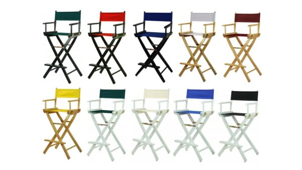 Director's Chairs in all colors for rent