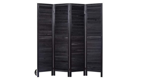 Panel Screens And Room Divider Black