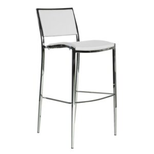 Bella Bar Chair, Bar Stools white for rent