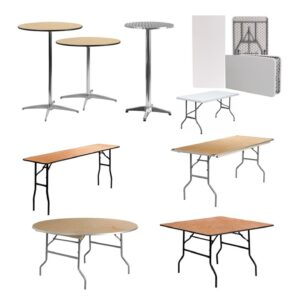 1 Shop Tables By Type