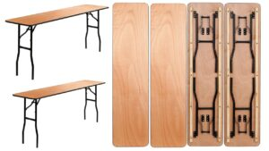 Narrow Tables-Classroom Tables For Rent