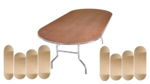 Oval Tables For Rent