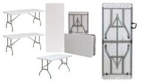 Plastic Folding Tables For Rent