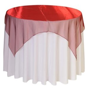 Sparkling Organza Sheer Tablecloths
