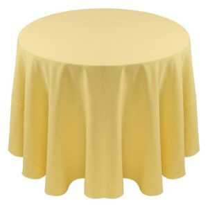 Spun Polyester Tablecloth and Napkins