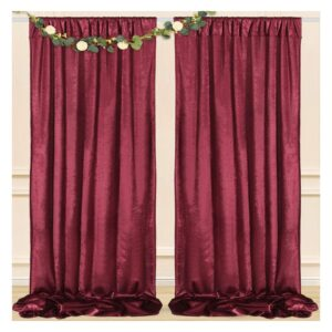 Velvet Backdrop Drapes