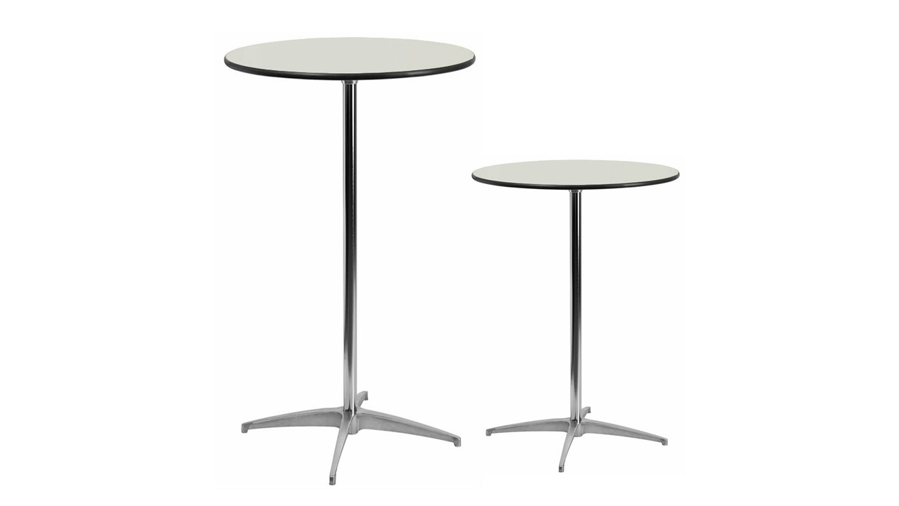 252 White Cocktail Tables Finish Top
