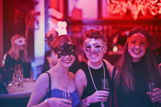 Halloween in Redondo Beach with masquerade ball