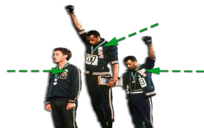 1968 Olympics Black Power Salute: Ever Wonder What that White Guy Was Thinking?