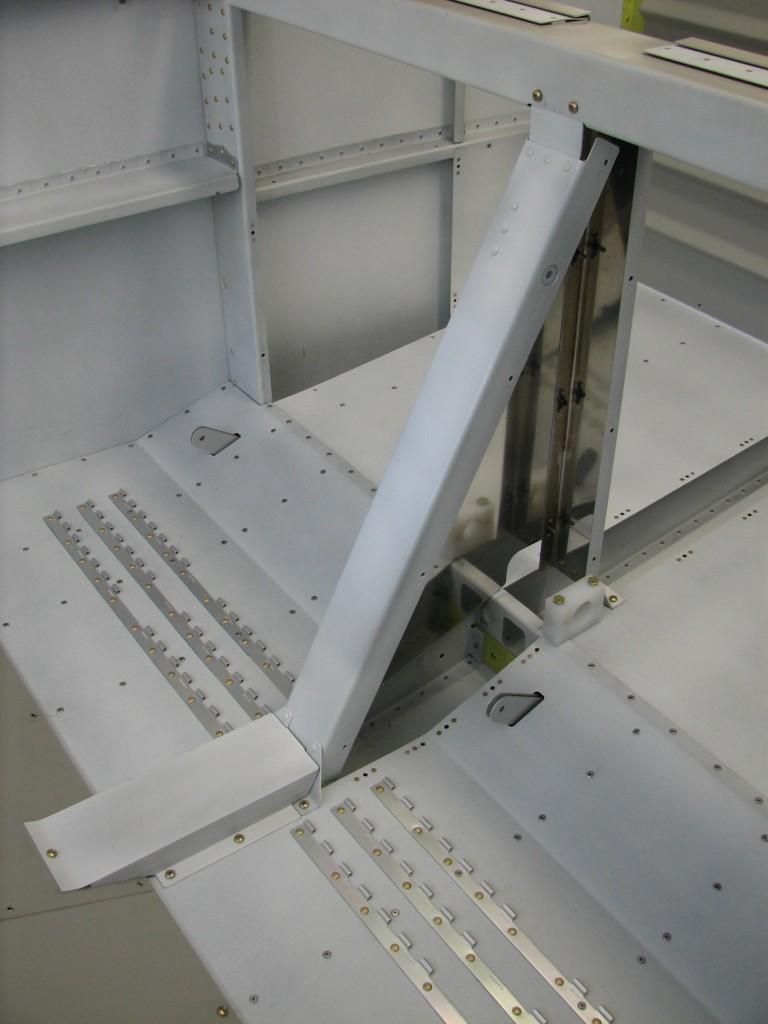 Primed flap area