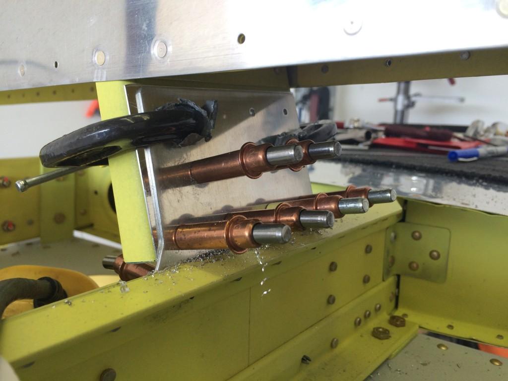 Drilling VS front spar 2
