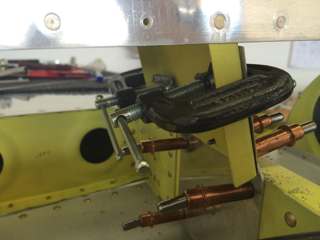 Drilling VS front spar 1