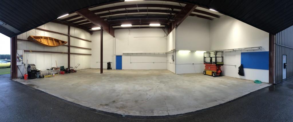 Hangar cleanup complete