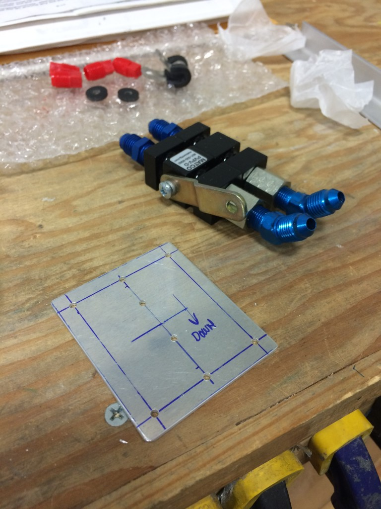 Parking brake valve and doubler