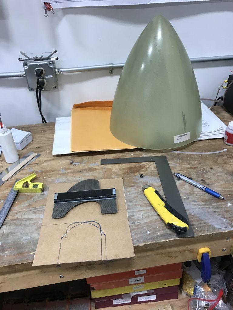 Marking prop cutouts