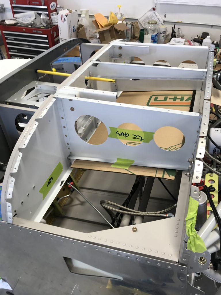 Avionics tray mockup