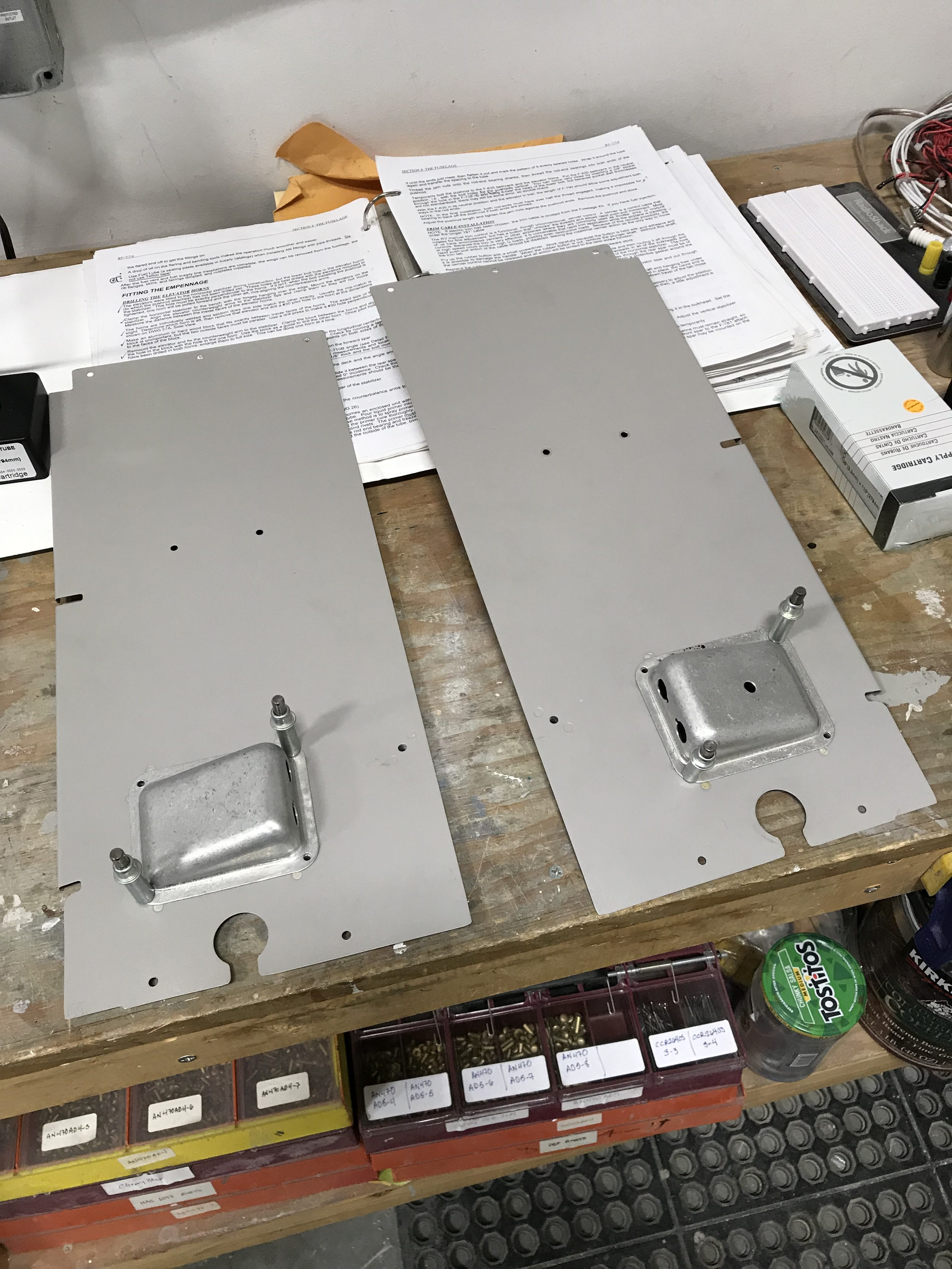 Mounting headset jack holders