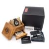 jord wooden watch dover black wood
