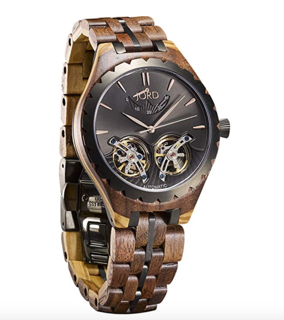 Jord meridian series automatic wooden watch