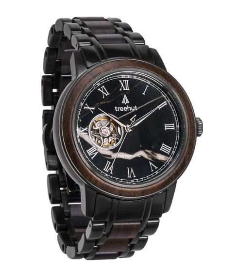 treehut atlas wooden watch
