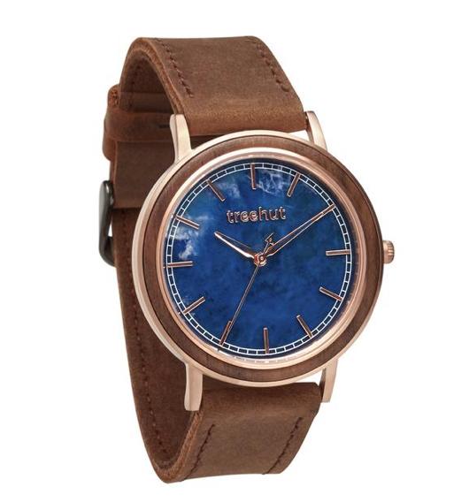 treehut bay wooden watch