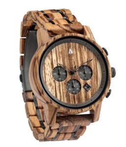 treehut north wooden watch