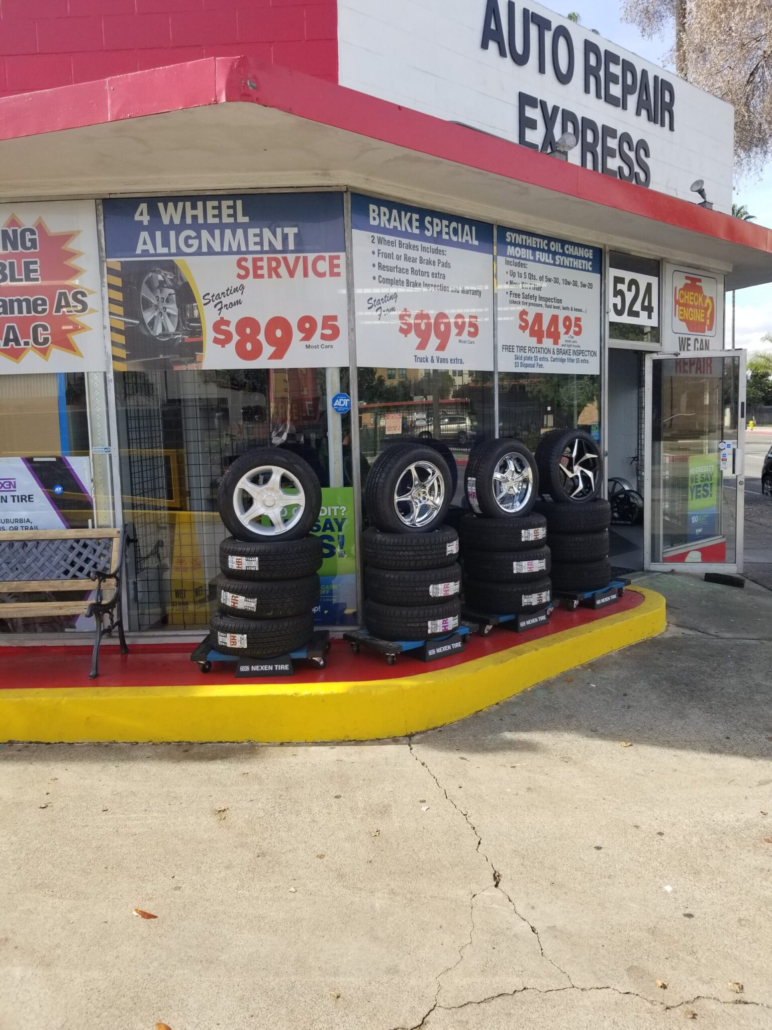 services auto repair express