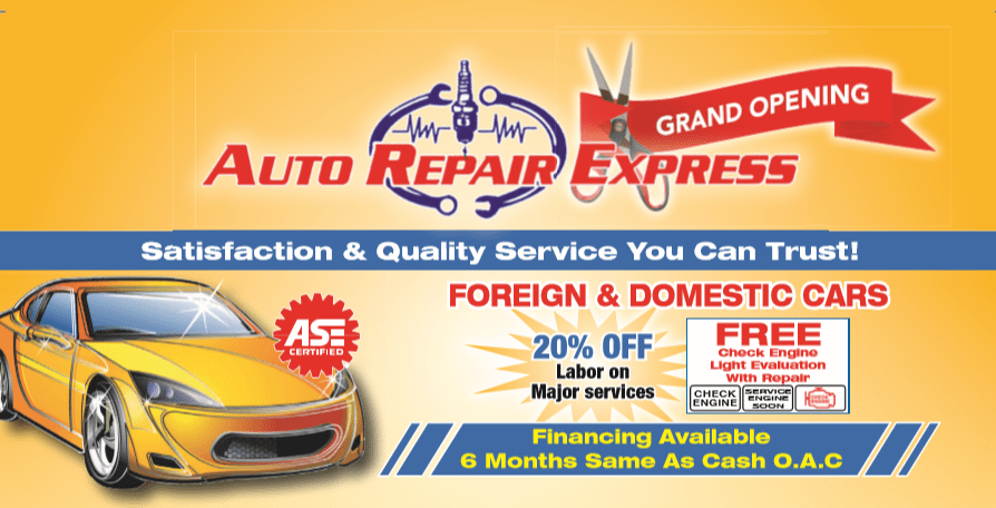 FEATURED IMAGE FOR AUTO REPAIR EXPRESS