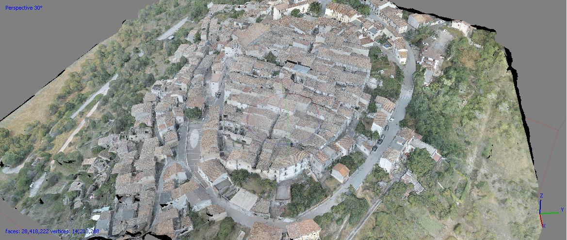 Drone View of Borgo