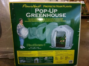 Flowerhouse Pop-Up Greenhouse
