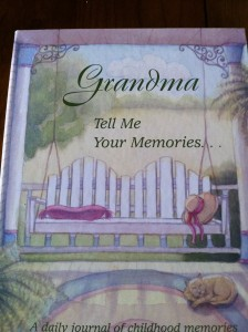Grandma Tell me Your Memories