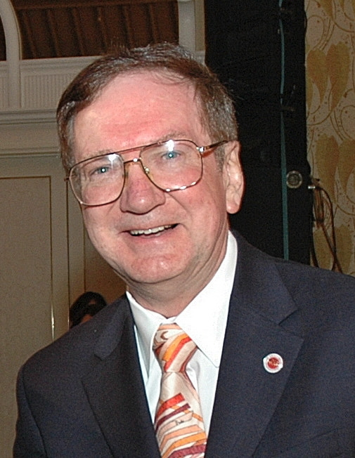 Dr. Tommy Cairns, internationally renowned rose expert and exhibitor