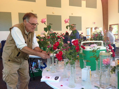 Andy Plasz at The Illinois Indiana District Rose Show