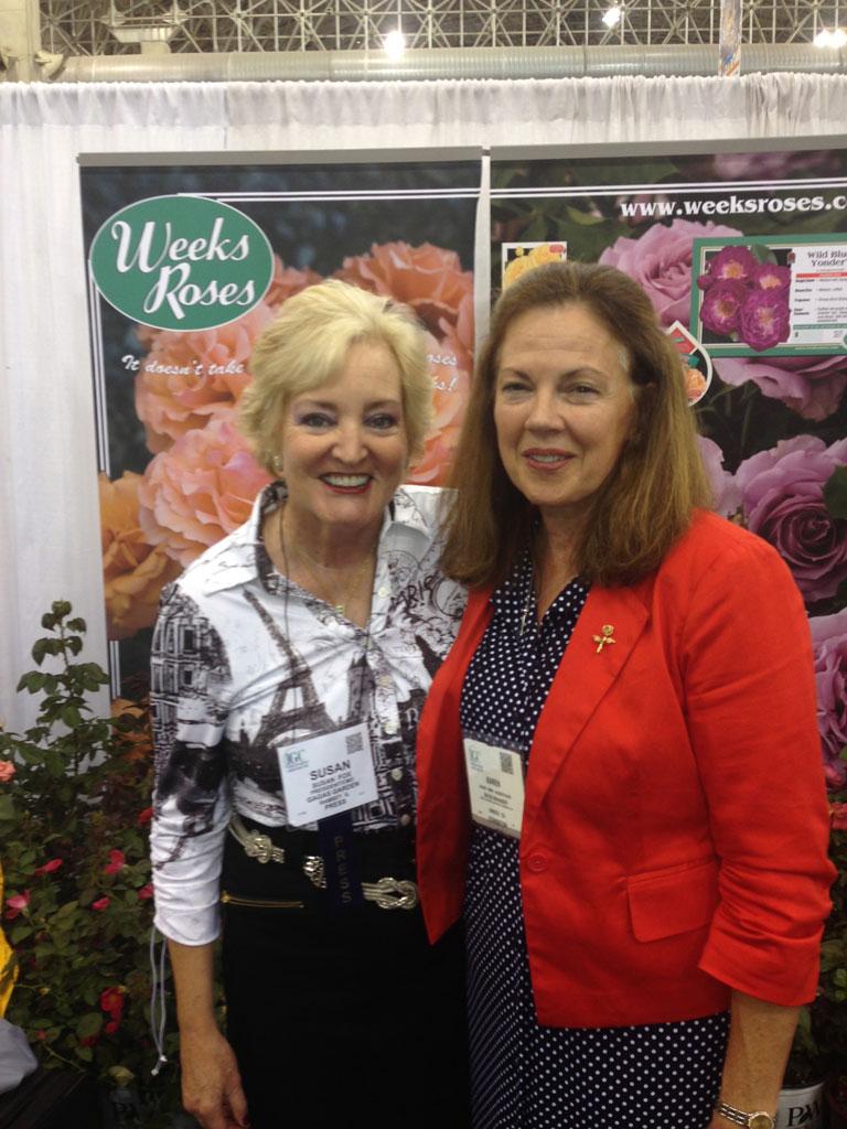 Karen Kemp Docksteader, Weeks Roses, Sales & Marketing Manager