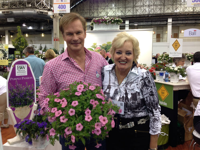P. Allen Smith at Proven Winner Booth at IGC Sho