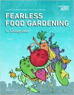 Fearless Food Gardening in Chicago by LaManda Joy, proceeds to fund gardens in Chicago