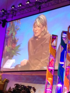 Martha Stewart Live with Jeff Morey at IGC
