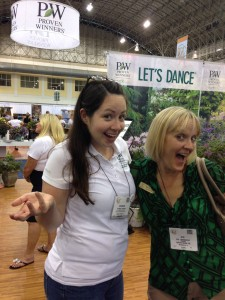 Shannon Springer of Proven Winners and Sue Markgraf of Greenmark PR