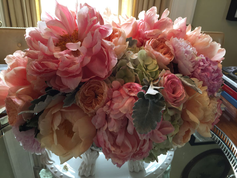Peony Arrangement at P. Allen Smith's #G2B15