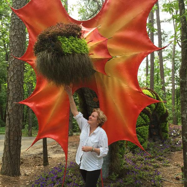 Dragon Topiary at Garvan Gardens