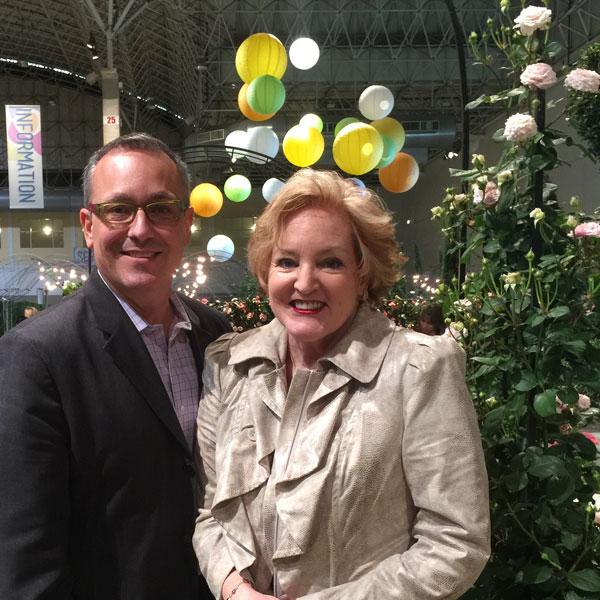 Tony Abruscato | Chicago Flower & Garden Show Director | Rose Garden Visionary