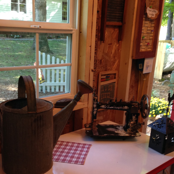 Antique Sewing Machine | Watering Can