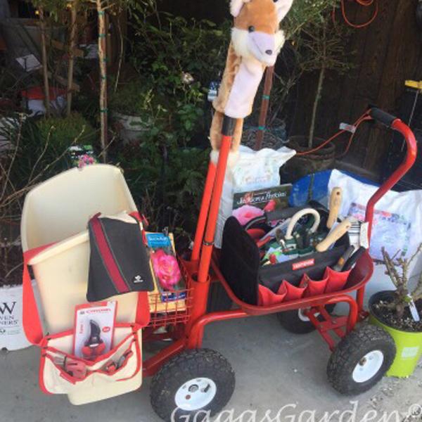 Rose Pruning Cart Ready For Rose Pruning Season