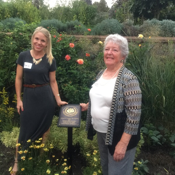 Emily Tice Wilson   Past American Rose Society President, Jolene Adams
