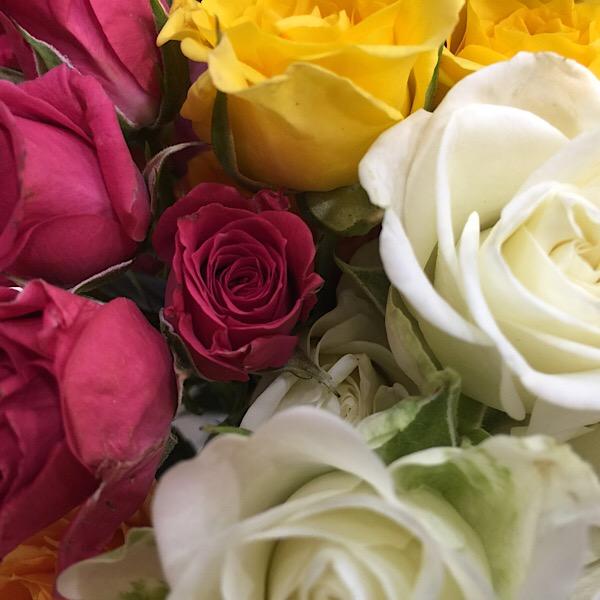 Rose Bouquets at Chicago Flower & Garden Show