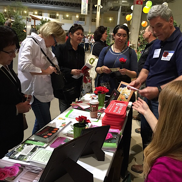 Information & Education Table with ARS Executive Director