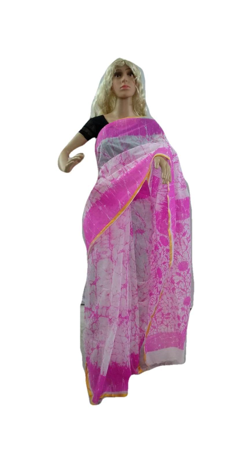 Handloom Saree/Silk Cotton