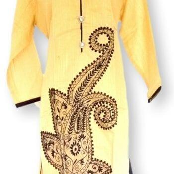Adhrit Creations Cotton Kurti #18929716
